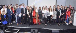 All the graduands at the 2019 Brighton & Hove Ceremony